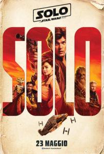 Solo: A Star Wars Story - Locandina italiana
