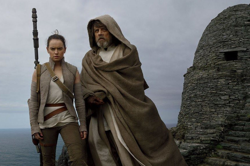 Star Wars -Gli ultimi Jedi luke