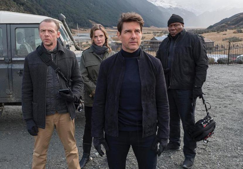 Tom Cruise: sul set di