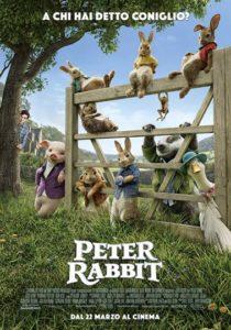 Peter Rabbit - Locandina italiana