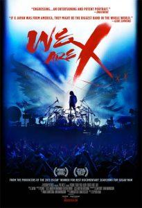 We Are X locandina
