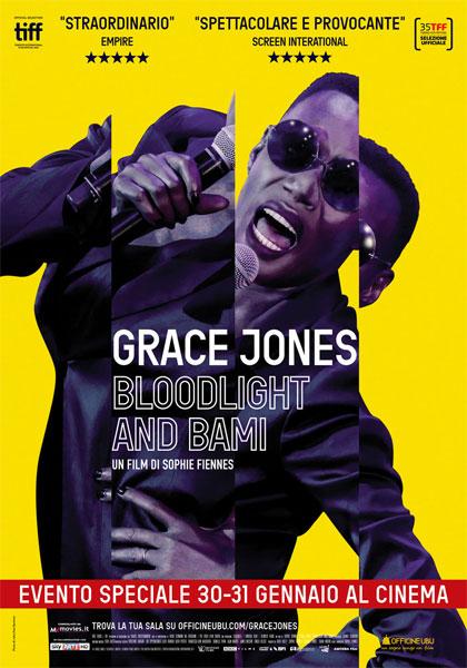 Grace jones locandina