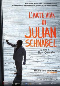 L'arte viva di Julian Schnabel poster ita