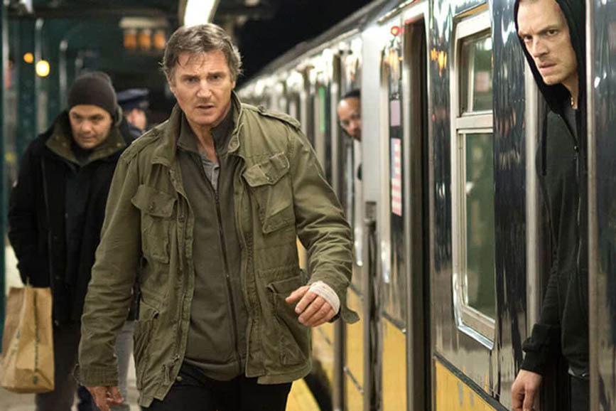 L'uomo del treno - The Commuter review