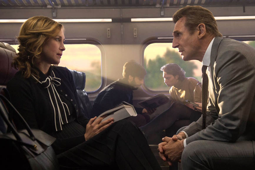 L'uomo del treno - The Commuter scena film