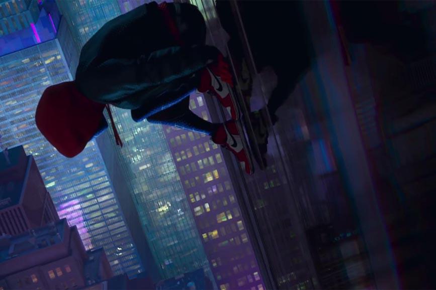 Spider-Man - Un nuovo universo scena film