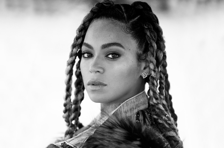 Beyoncé primo piano