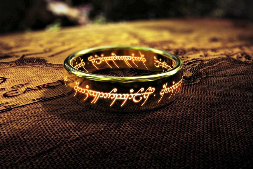 il signore degli anelli anello