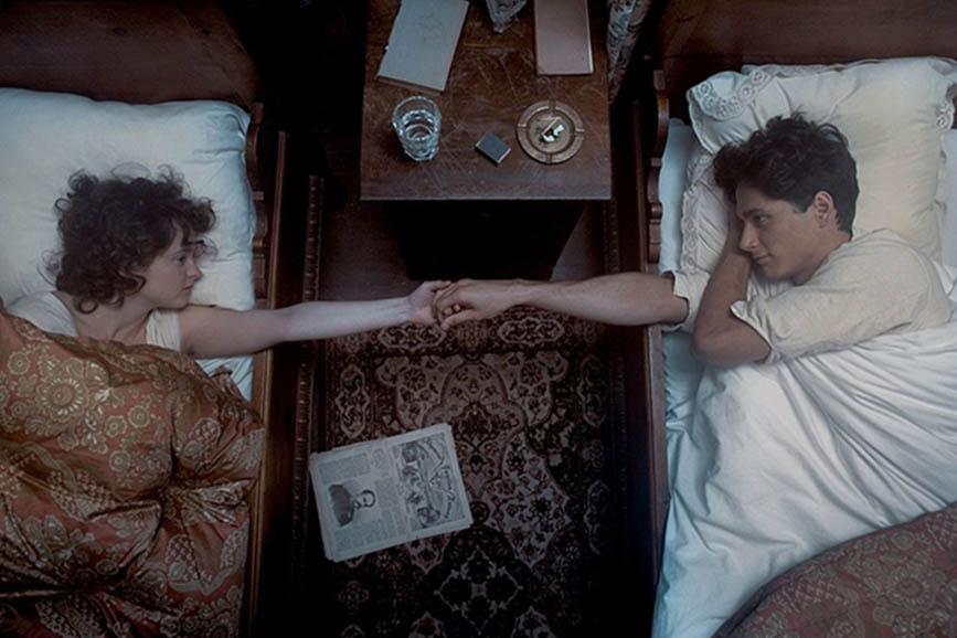 Egon Schiele - Death And The Maiden una scena del film