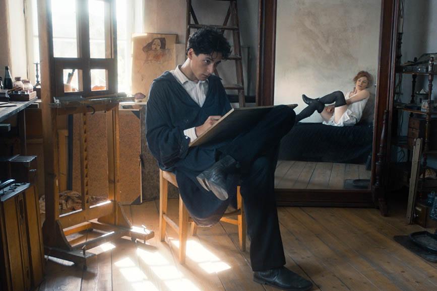 Egon Schiele - Death And The Maiden biopic