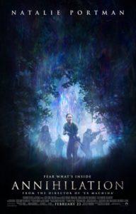 Annihilation poster ufficiale