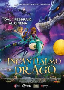 L'incantesimo del drago poster italiano