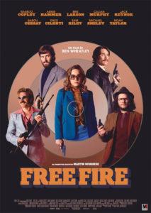 locandina free fire 2017