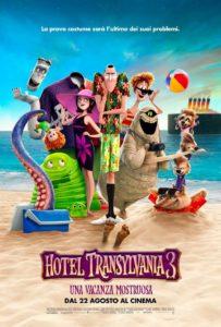 Hotel Transylvania 3: Una vacanza mostruosa - Locandina definitiva