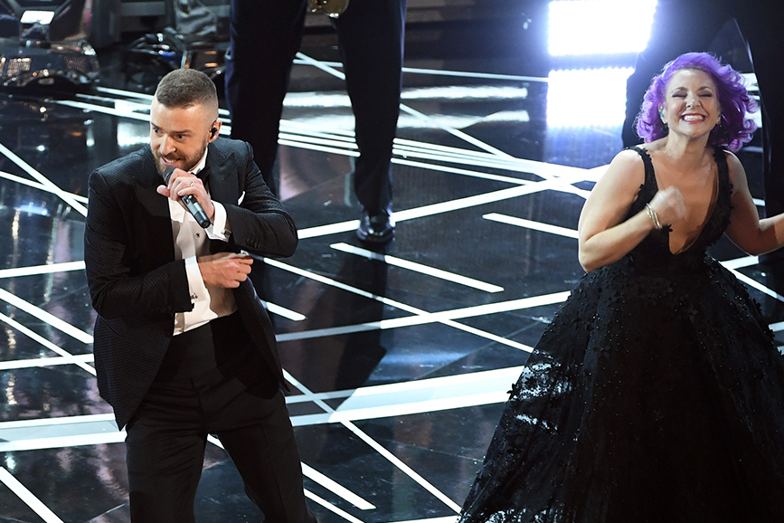Justin Timberlake esibizione