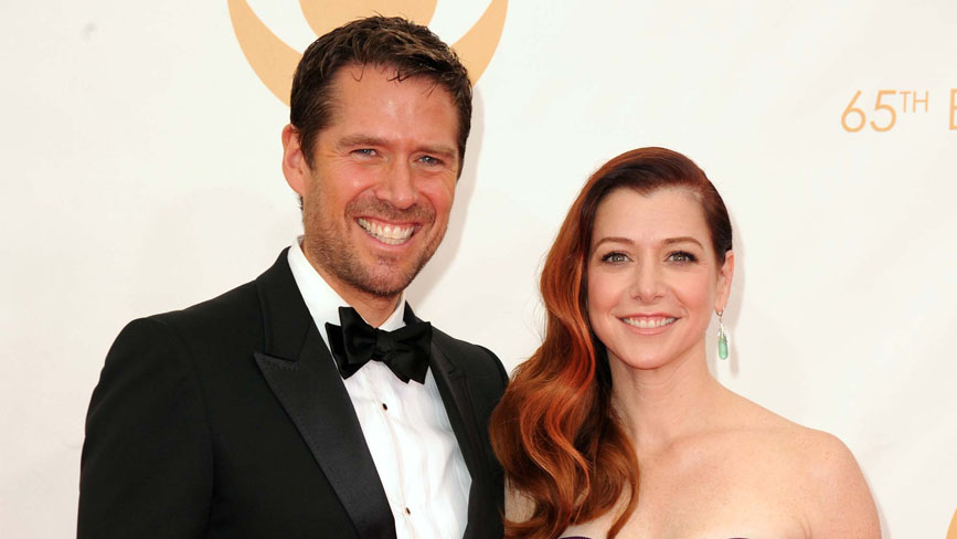 Alexis Denisof  e Allison Hannigan  coppia