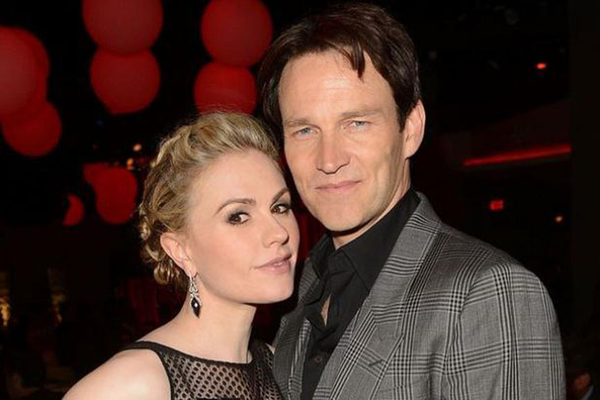 Anna Paquin e Stephen Moyer coppia