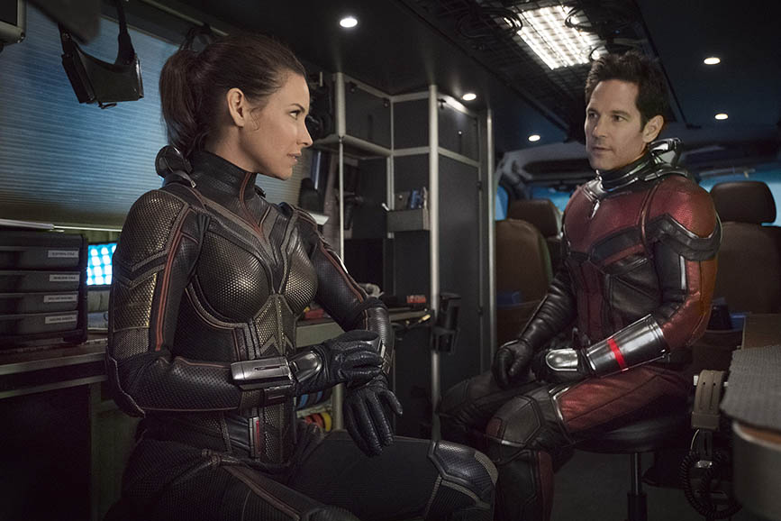 Ant-Man and the Wasp scena