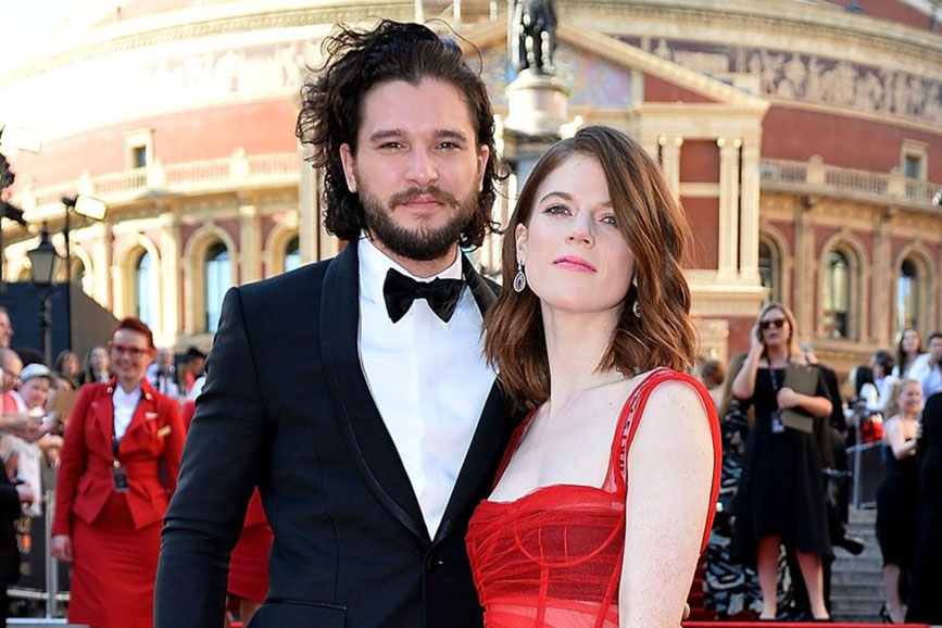 Kit Harington e Rose Leslie coppia