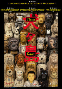 L'isola dei cani poster