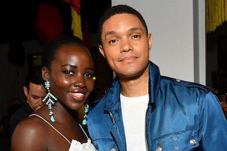 Lupita Nyong'o e Trevor Noah