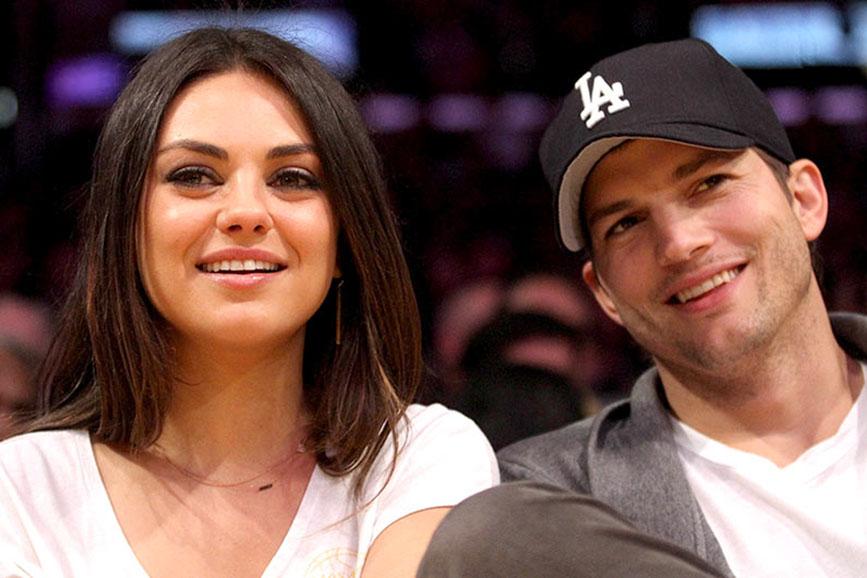 Mila Kunis e Ashton Kutcher coppia