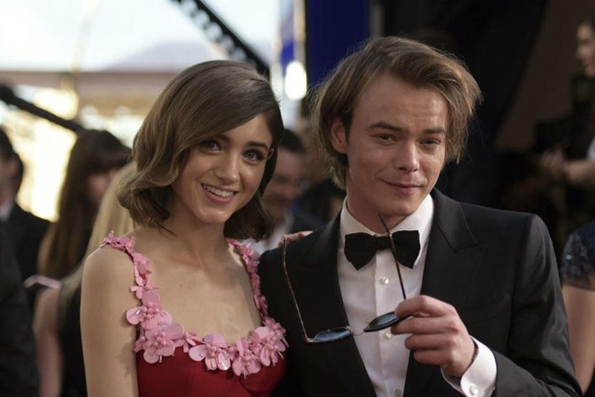 Natalia Dyer e Charlie Heaton coppia