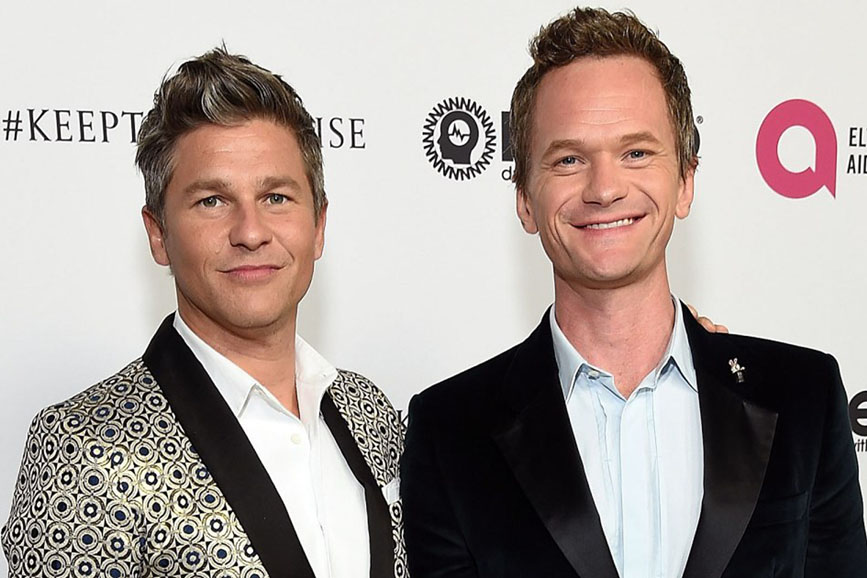 Neil Patrick Harris e David Burtka coppia