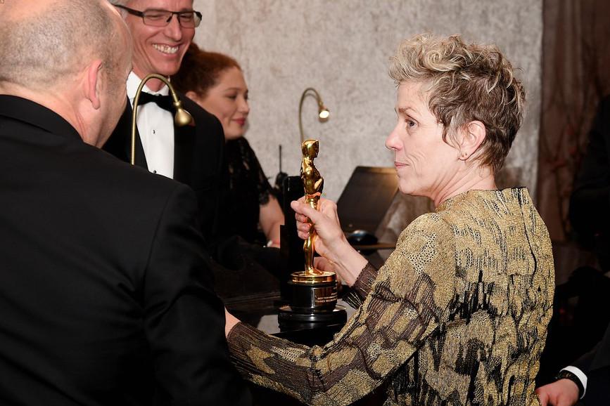 Il discorso di Frances McDormand agli Oscar 2018