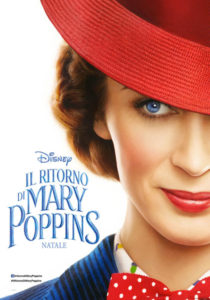Il Ritorno di Mary Poppins - locandina italiana