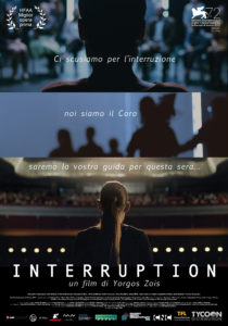 Interruption poster