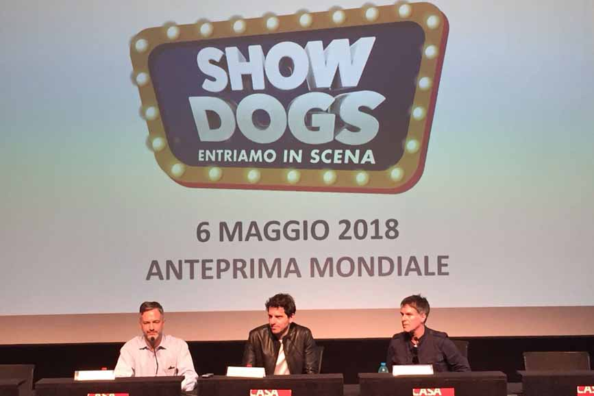 Show Dogs conferenza stampa casa del cinema