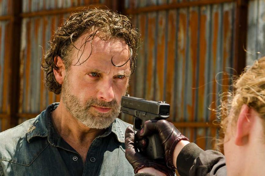 The Walking Dead scena film