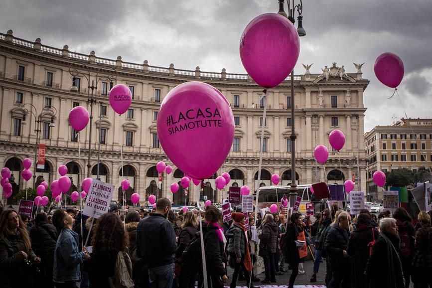 Casa Internazionale delle Donne: una serie di eventi e iniziative