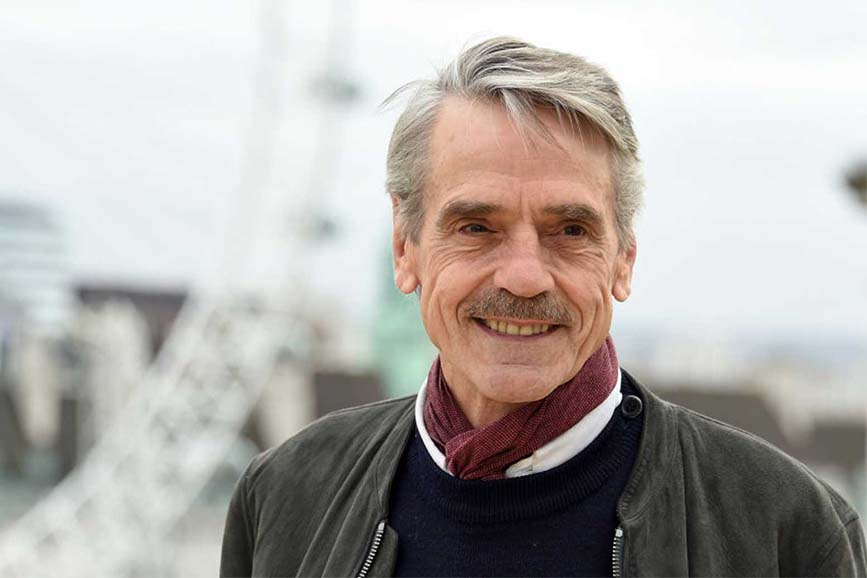 Jeremy Irons protagonista di
