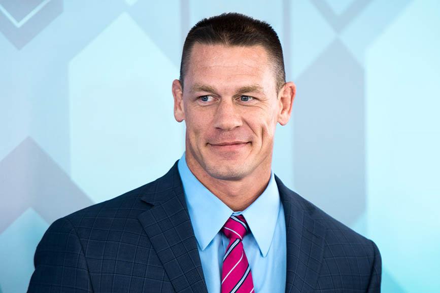 John Cena sostituisce Sylvester Stallone in