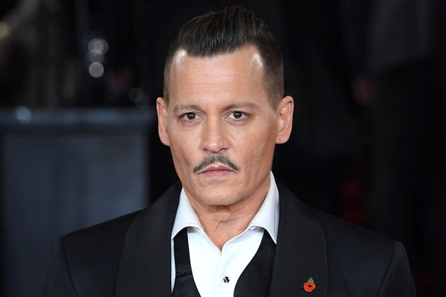 Johnny Depp look 2018