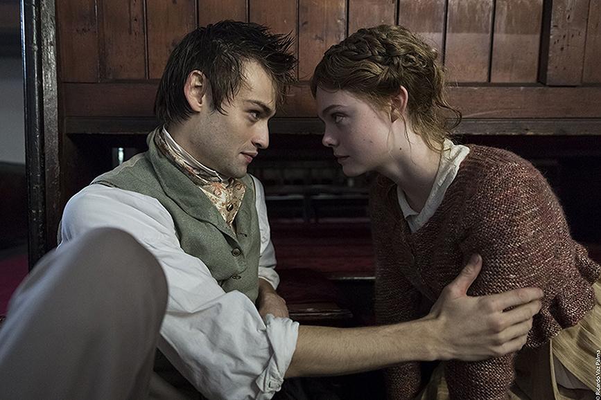 Mary Shelley scena film