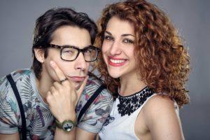 La fuitina sbagliata foto con Claudio Casisa e Annandrea Vitrano