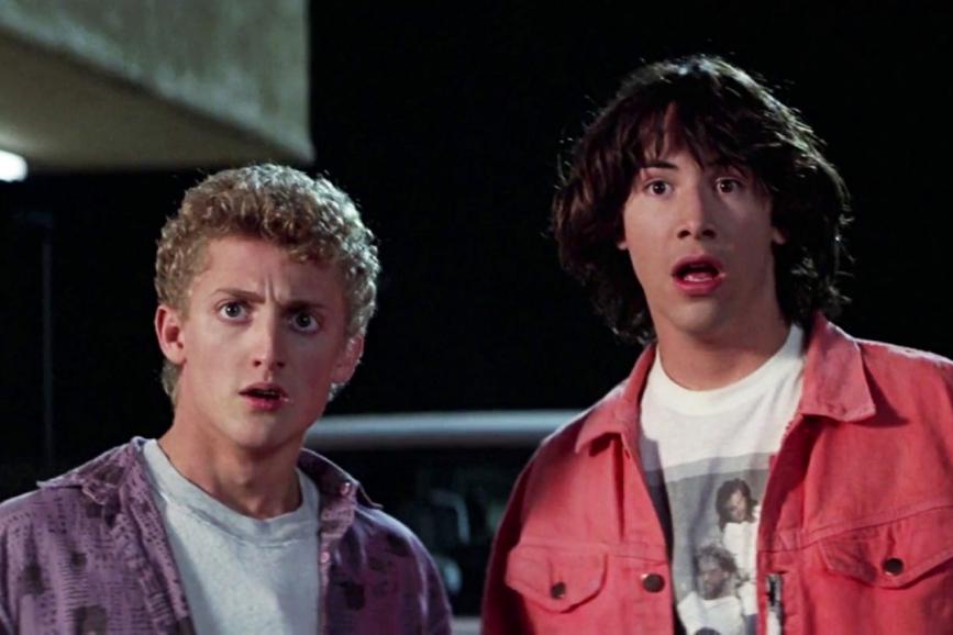 Bill&Ted Keanu Reeves