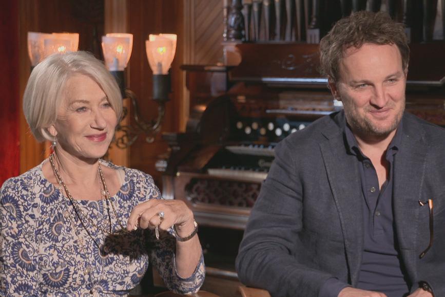 Jason Clarke e Helen Mirren nella serie tv