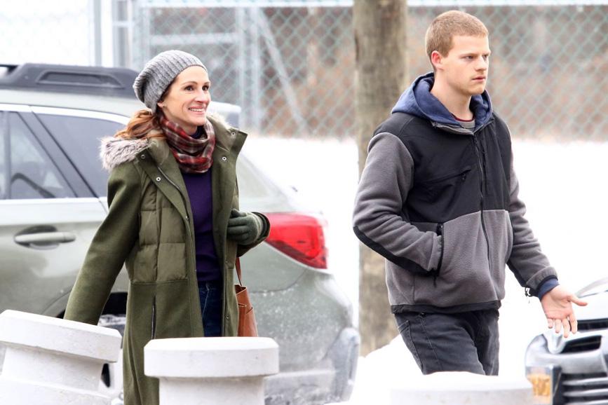 Julia Roberts e Lucas Hedgesben photo Ben Is Back