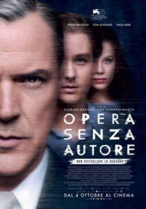 Un opera senza autore locandina italiana
