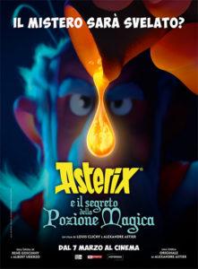 Asterix e la pozione magica poster ita
