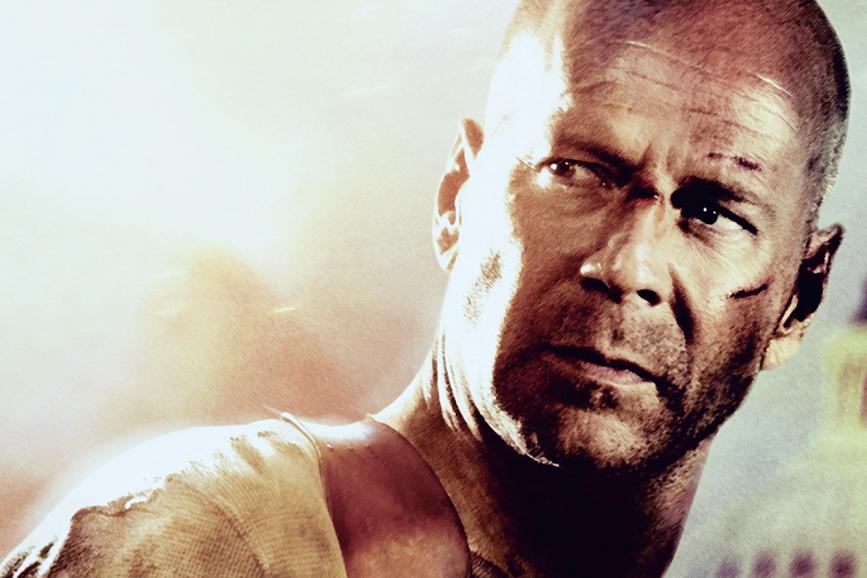 """Bruce Willis in """"Die Hard"""""""