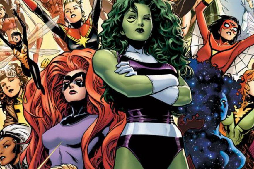 Marvel eroine fumetti