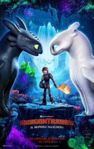 Dragon Trainer - Il mondo nascosto poster ita