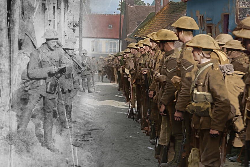 They Shall Not Grow Old - still