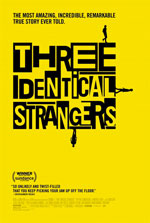 Three Identical Strangers - poster