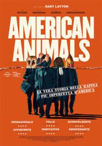 American Animals locandina definitiva